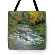 Autumn Rush Tote Bag