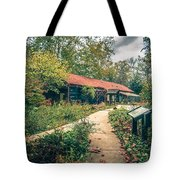Autumn Season Around Aheville North Carolina Tote Bag