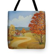 Autumn Season Tote Bag