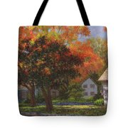 Autumn Shadow And Light Tote Bag