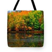 Autumn Sings Tote Bag