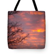 Autumn Sky Tote Bag by Konstantin Dikovsky