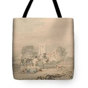 Autumn Sowing Of The Grain Tote Bag