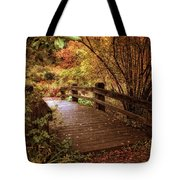 Autumn Splendor Bridge Tote Bag