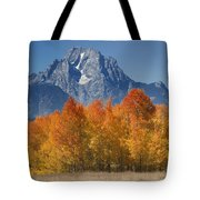Autumn Splendor In Grand Teton Tote Bag
