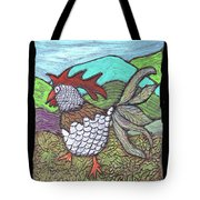Autumn Strut Tote Bag