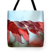 Autumn Sumac Tote Bag