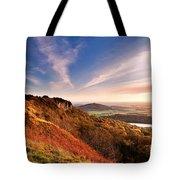 Autumn Sunset At Sutton Bank Tote Bag