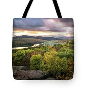 Autumn Sunset In The Catskills Tote Bag