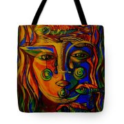 Autumn Tears Tote Bag