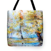 Autumn Tenderness Tote Bag
