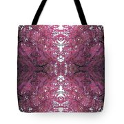 Autumn Tree Leaves Fractal B3 Mid Tote Bag