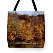 Autumn Trees Tote Bag