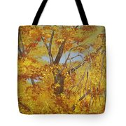 Autumn Treetops Tote Bag