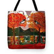 Autumn Trilogy Tote Bag