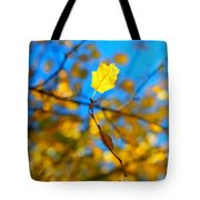 Autumn Twist Tote Bag