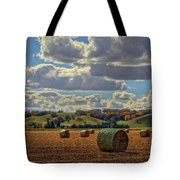 Autumn Valley Bales Tote Bag