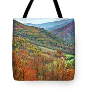 Autumn Valley Tote Bag