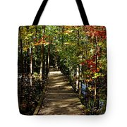 Autumn Walk Tote Bag