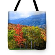 Autumn White Mountains Nh Tote Bag
