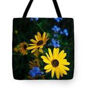 Autumn Wildflowers Tote Bag