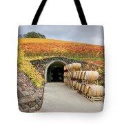 Autumn Wine Cave Tote Bag