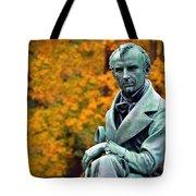 Autumn With Mr. Cooper Tote Bag