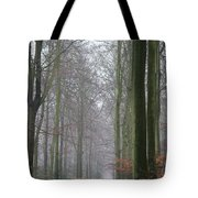 Autumn Woodland Avenue Tote Bag