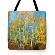 Autumn Woodlot Tote Bag