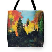 Autumnal Colors Tote Bag