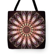 Autumnal Mandala Tote Bag