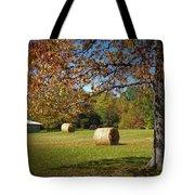 Autumnal Scenery Along Helmstetler Road Tote Bag