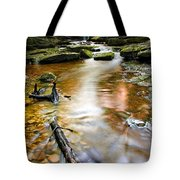 Autumnal Waterfall Tote Bag