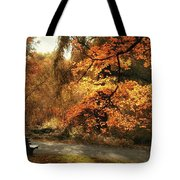 Autumn's Audience Tote Bag