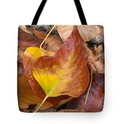Autumns Color Palette Tote Bag