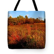 Autumns Field Tote Bag