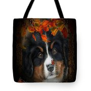 Autumn's Pup Tote Bag