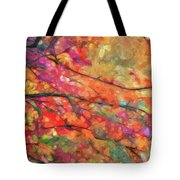 Autumns Splendorous Canvas Tote Bag