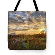 Autumn's Sunset Tote Bag