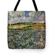 Landscape Auvers28 Tote Bag