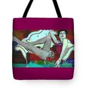 Ava Gardner - Pop Art Tote Bag