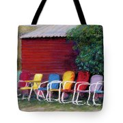 Available Seating Tote Bag