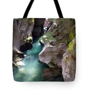 Avalanche Creek Glacier National Park Tote Bag
