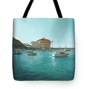 Avalon Harbor Afternoon Tote Bag