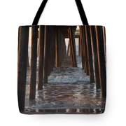 Avalon Pier At 32nd Street Tote Bag