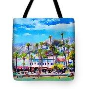 Avalon Waterfront, Catalina Tote Bag