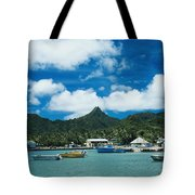 Avarua Harbor Tote Bag