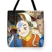 Avatar The Last Airbender Tote Bag