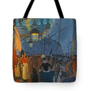 Avenue De Clichy. Five O'clock In The Evening Tote Bag