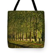 Avenue Of Trees On The Kennet And Avon Canal Tote Bag